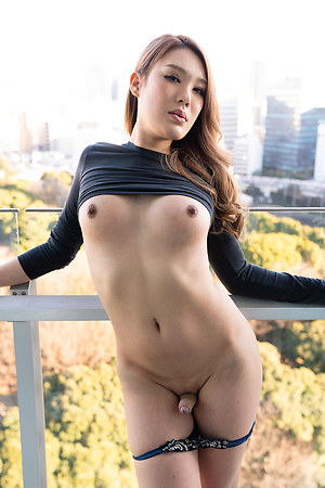 Japan Transsexual Rui Matsushita Outdoor Session